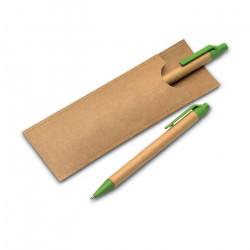 Parure crayon et stylo écologiques