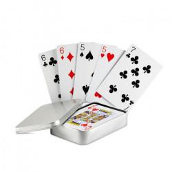 Boite de jeu de cartes