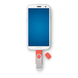 Clé USB pivotante Android & Micro USB