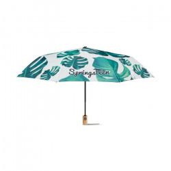 """Parapluie 21"""" ouverture automatique 100% personnalisable en PET recyclé"""