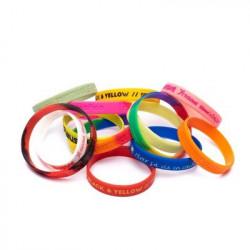 Bracelet publicitaire en silicone