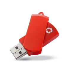 Clé USB pivotante 100% recyclée
