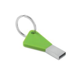 Clé USB en forme de clé avec porte-clés