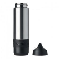 Bouteille isotherme  400 ml avec haut-parleur