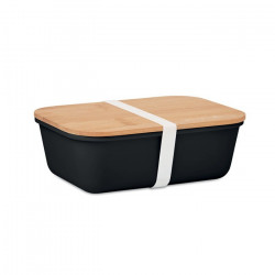 Lunch box avec couvercle bambou