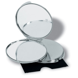 Miroir de sac chromé