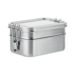 Lunch box en acier inoxydable à double compartiment