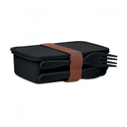 Lunch box & couverts assortis