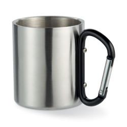 Mug 220 ml avec mousqueton coloré
