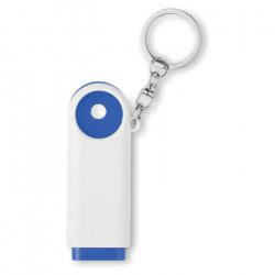 Porte-clés LED et jeton