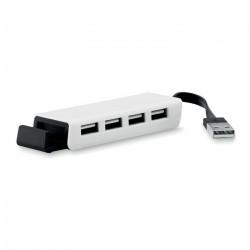 Hub USB 4 ports & Support smartphone