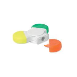 Spinner avec feutres 3 couleurs