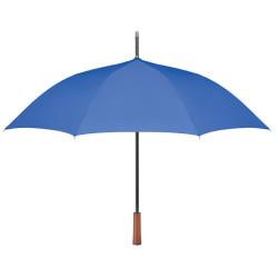 """Parapluie 23 """" en PET recyclé avec manche en bois"""