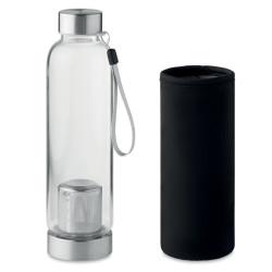 Bouteille 500 ml en verre avec infuseur à thé