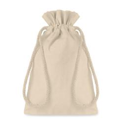 Sac cadeau 105 gr/m² en coton écru (petit format)