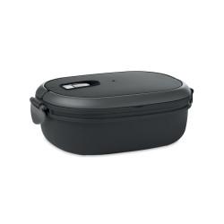 Lunch box avec couvercle hermétique