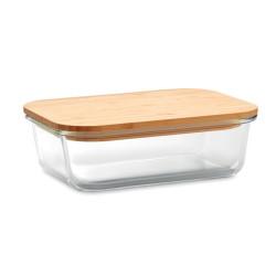 Lunch box en verre & bambou