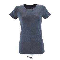 T-shirt 150g/m² femme avec col rond ajusté