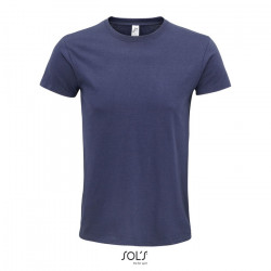 T-shirt Bio 140g/m² unisexe avec col rond ajusté