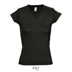 T-shirt 150g/m² femme avec col V