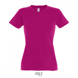 T-shirt 190g/m² femme avec col rond