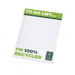 Bloc-feuilles A6 100% personnalisable et recyclé