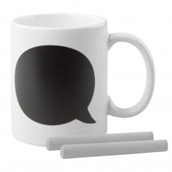 Mug 300 ml avec craie