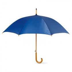 """Parapluie 23"""" ouverture automatique 100% personnalisable avec mât et poignée en bois"""