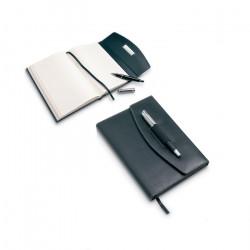 Porte-documents A5 en simili cuir